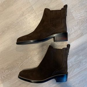 Tommy Hilfiger Leather Booties